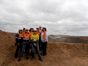 MCIG visit Isaac Plains Coal Mine